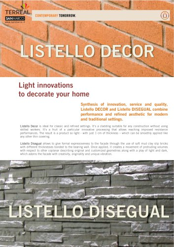 Listello Decor Disegual