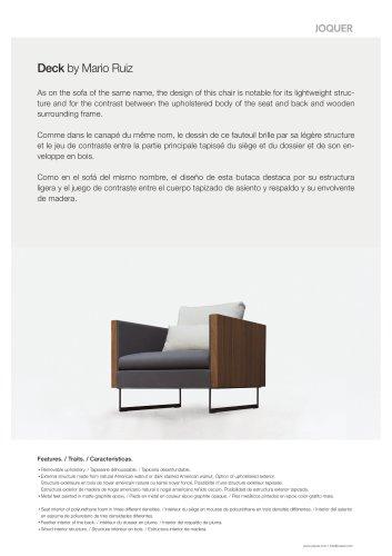 Deck- Armchair