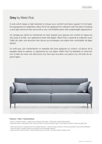 Grey - Sofa