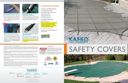 SAFETY COVER