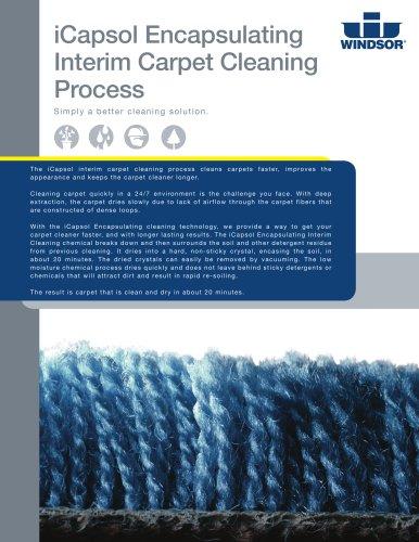 iCapsol Encapsulating Interim Carpet Cleaning Guide