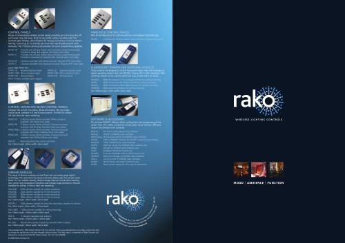 Rako A4 Brochure