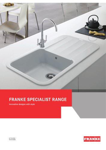 Franke Specialist Range