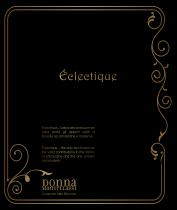 New ECLECTIQUE catalogue