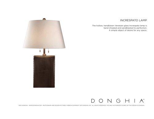 INCRESPATO LAMP