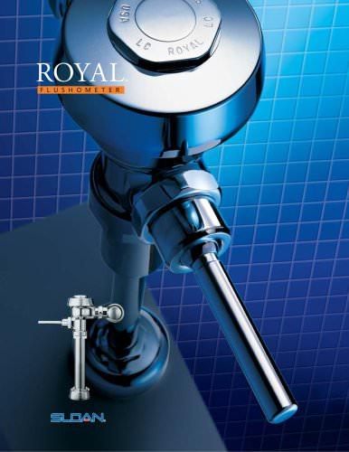 ROYAL flushometer