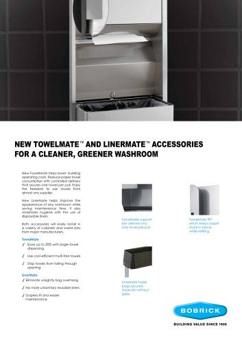 TowelMate and LinerMate Accessories