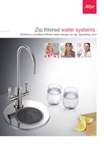 Zip filtered water systems