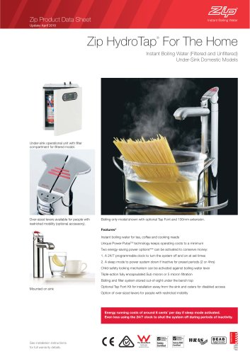 Zip HydroTap ®  For The Home