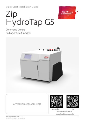 Zip HydroTap G5