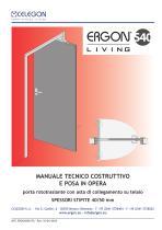CELEGON - Ergon Living S40 - Manuale Tecnico IT-rev10 - 1