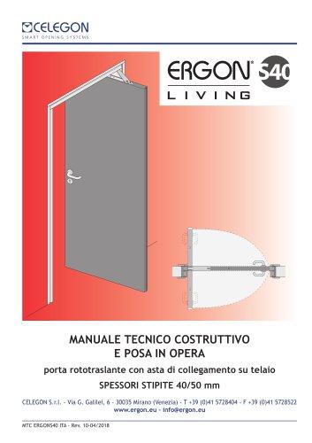 CELEGON - Ergon Living S40 - Manuale Tecnico IT-rev10
