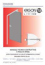 CELEGON - Ergon Living TE - Manuale Tecnico IT-rev11 - 1