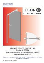 CELEGON - Ergon Living TE Slim - Manuale Tecnico IT-rev7 - 1