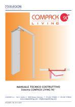 Celegon - Manuale tecnico Compack Living 90° - IT - 1
