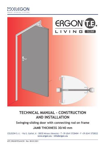 Technical Manual Ergon Living TE SLIM- rev8-eng