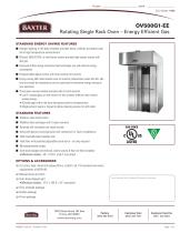 OV500G1-EE Rotating Single Rack Oven ? Energy Efficient Gas