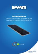 Solar collector Arcobaleno - IT/GB 02