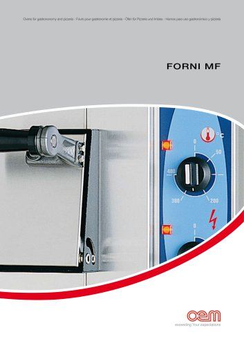 FORNI MF : OVENS FOR GASTRONOMY AND PIZZA RESTAURANTS