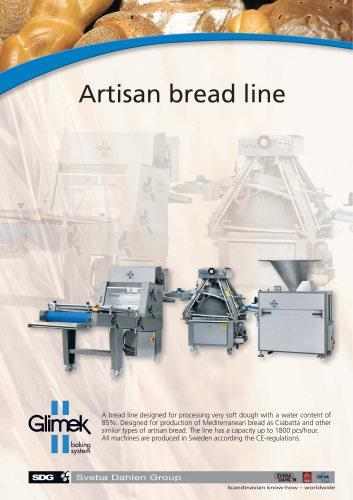 Artisan bread line
