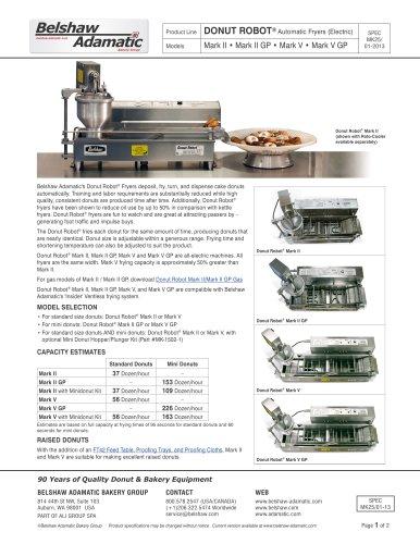 Donut Robot® Mark II (Gas)