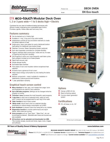 DX Oven