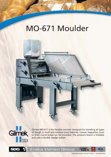 Glimek MO-671 Moulder