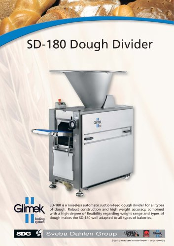 Glimek SD-180 Dough Divider