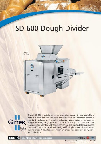 Glimek SD-600 Dough Divider