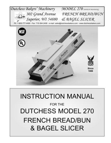 FRENCH BREAD/BUN & BAGEL SLICER