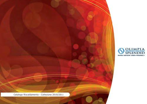 Catalogo Riscaldamento - Collezione 2010/2011