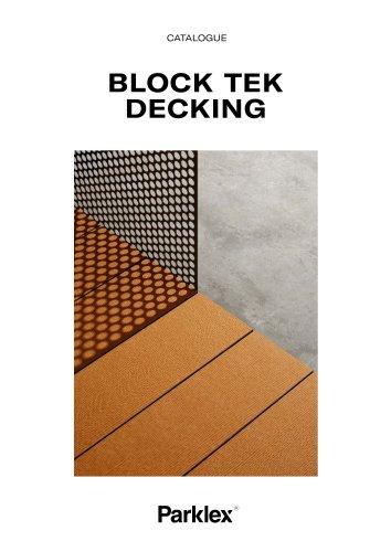 Block Tek Decking