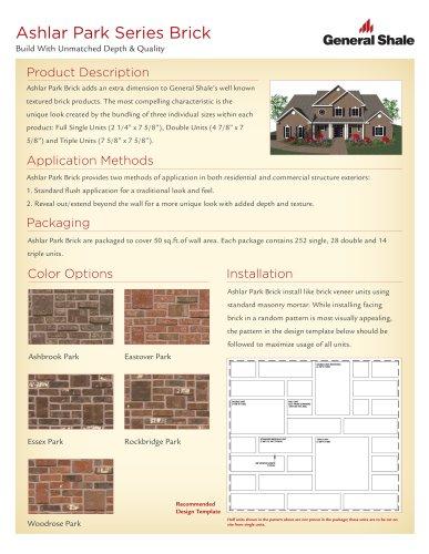 Ashlar Park Series Brick