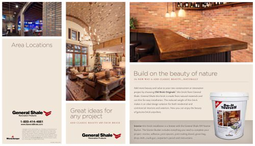 Thin Brick Quadfold Brochure