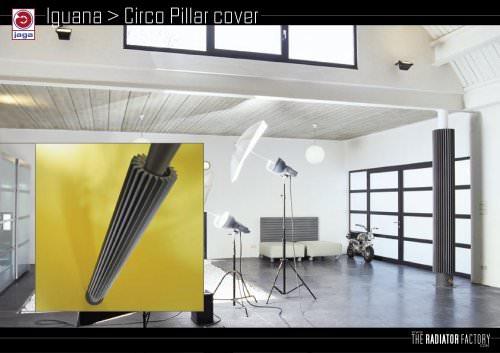 Iguana  Circo Pillar cover