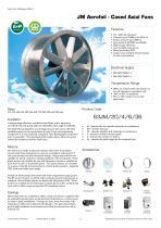 JM Aerofoil - Cased Axial Fans