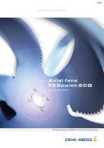 Axial fans FE2owlet-ECQ