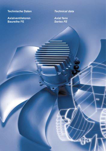 Axial fans Technical data Series FE