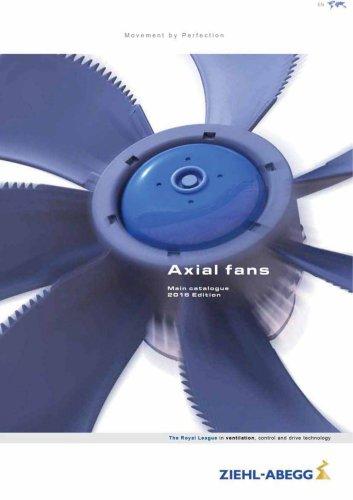 Catalogue Axial fans