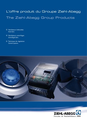 The Ziehl-Abegg Group Products