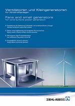 ventilatori e piccoli generatori