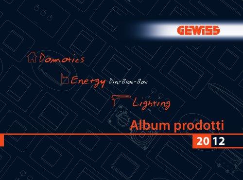 Album Prodotti 2012