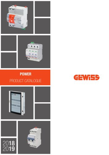 POWER PRODUCT CATALOGUE