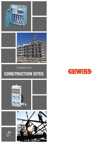 Solution for construction sites