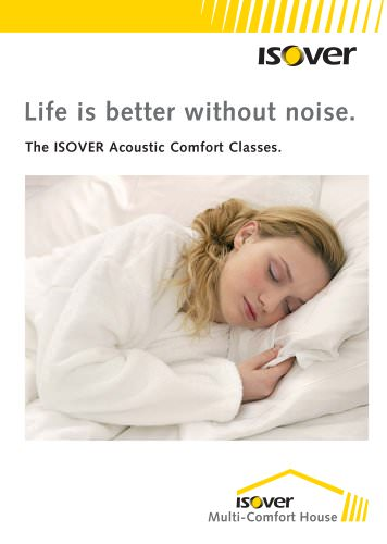 ISOVER Acoustic Comfort Classes