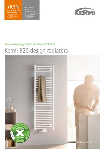 Kermi B20 design radiators