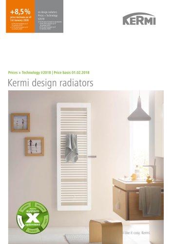 Kermi design radiators