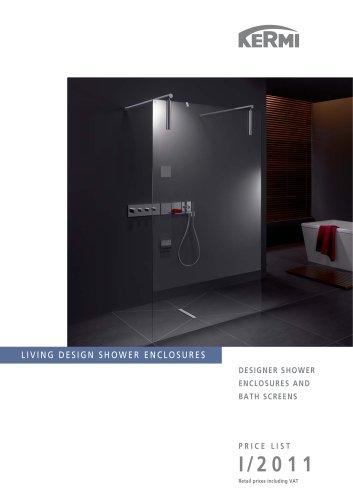 Shower enclosures I/2011