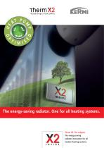 The energy-saving radiator. One for all heating systems.