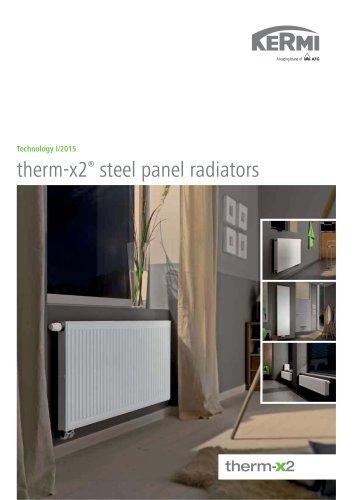 therm-x2® steel panel radiators